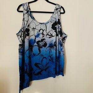 DKNY Jeans Ombré top Size 3 X.